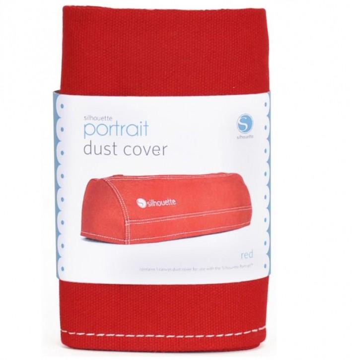 Staubschutzhülle für SILHOUETTE PORTRAIT Rot