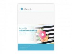 Weißer Cardstock- Bedruckbar und selbstklebend