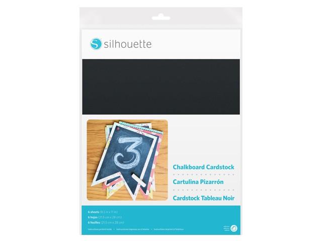 Silhouette Kreidetafel Fotokarton (selbstklebend)