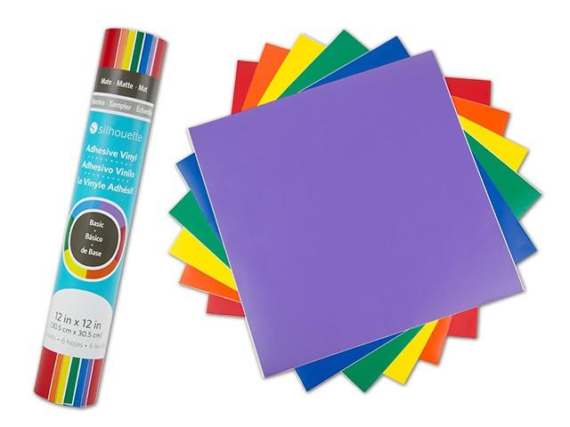 Silhouette Vinyl-Musterpack Basic