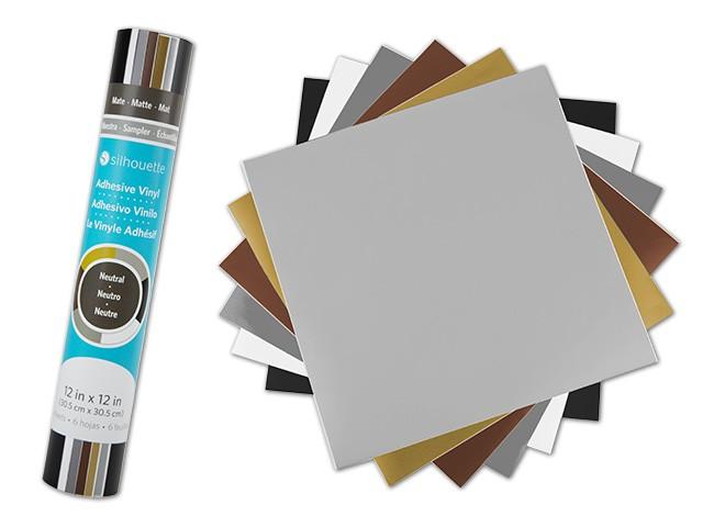 Silhouette Vinyl-Musterpack Neutral