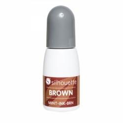 Silhouette Mint Stempel Farbe Braun 5 ml