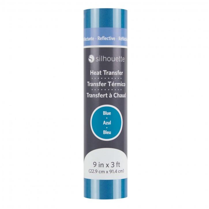 Silhouette Reflex Blau Flexfolie 22,9cm x 90cm