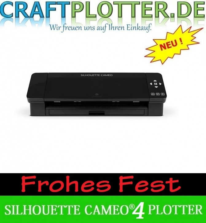 SILHOUETTE CAMEO® 4 BLACK Schneideplotter