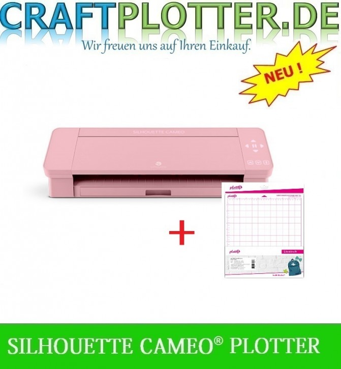 SILHOUETTE CAMEO® 4 PINK plus Matte