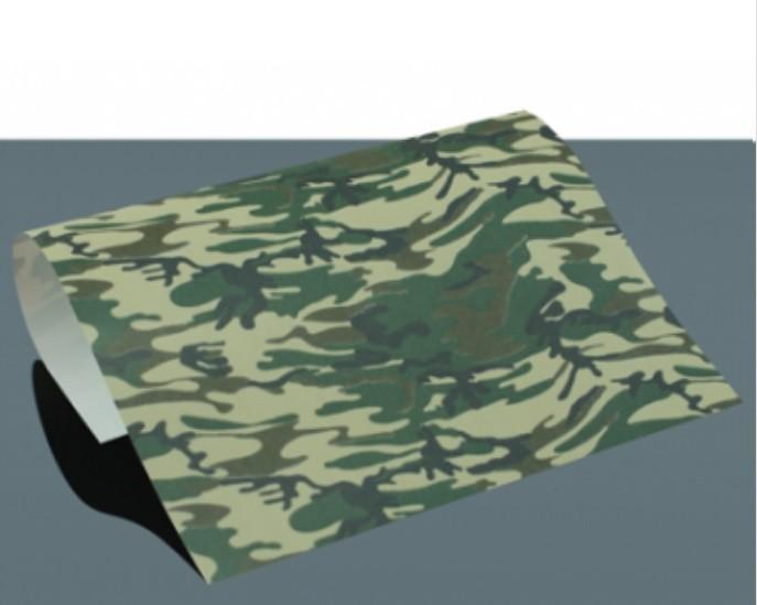 DesignFlex Army-Green Camouflage Look A4