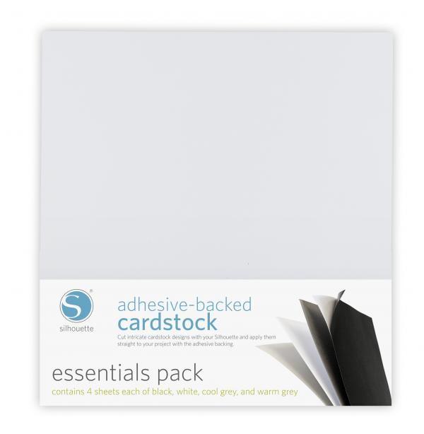 Silhouette klebender Cardstock essential