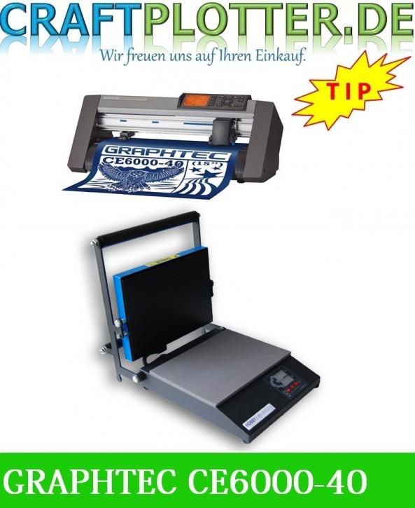 Graphtec CE6000-40 Plus AKTION plus HOBBYsqueezy Transferpresse