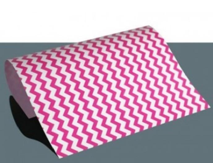 Chevron Flexfolie A4 Big Pink