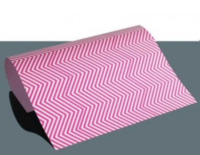 Chevron Flexfolie A4 Pink