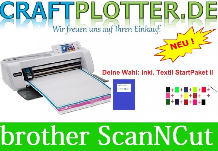 Brother CM300 Scan-N-Cut Aktion3 Textil