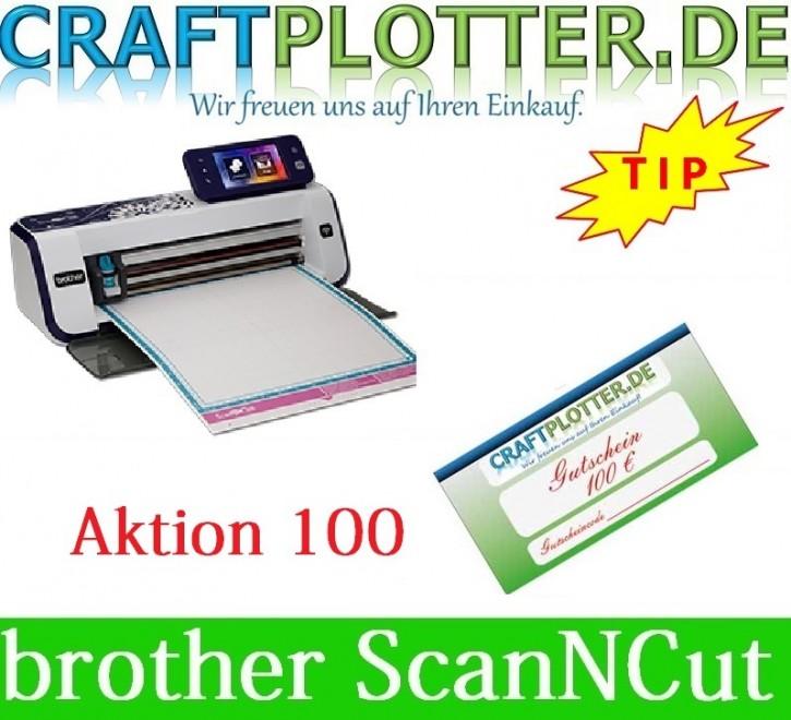 Brother CM900 Scan-N-Cut AKTION 100