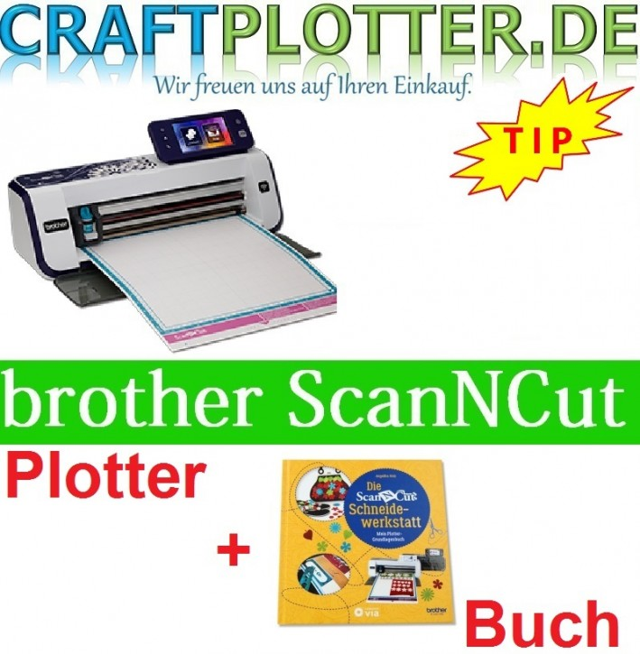 Brother CM900 Scan-N-Cut plus Buch