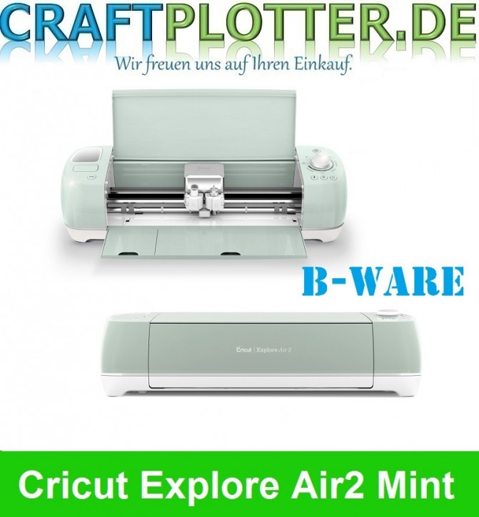Cricut Explore Air 2 Mint Schneideplotter B-Ware