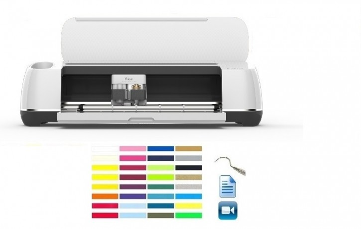 Cricut Maker AKTION 3 plus Textil StartPaket II