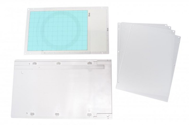 "Curio Großes Basisplatten Set (8.5"" x 12""= 21.5cm x 30.4cm)"