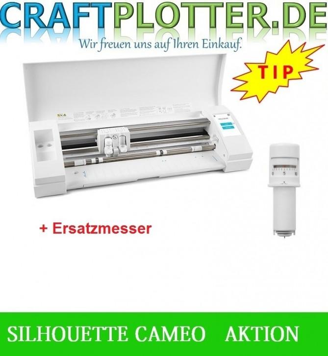 SILHOUETTE CAMEO® 3 Schneideplotter Aktion Messer