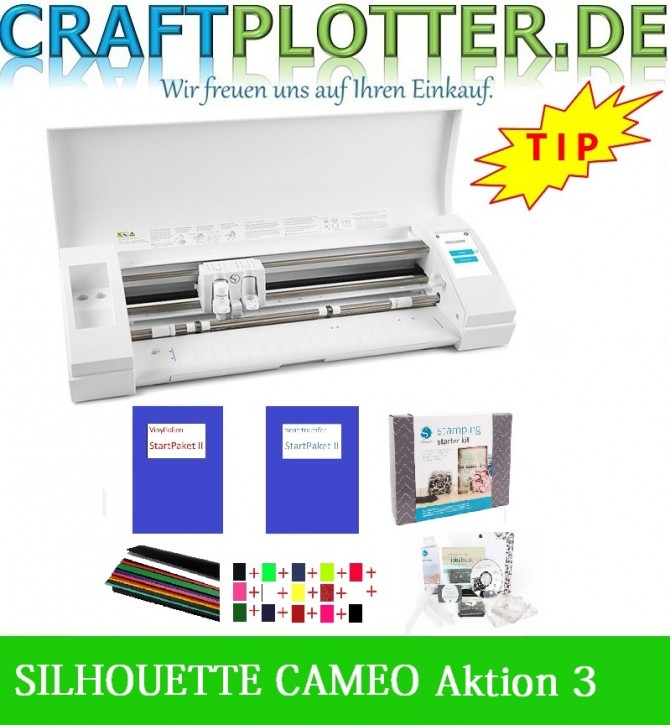 SILHOUETTE CAMEO® 3 Schneideplotter Aktion 3