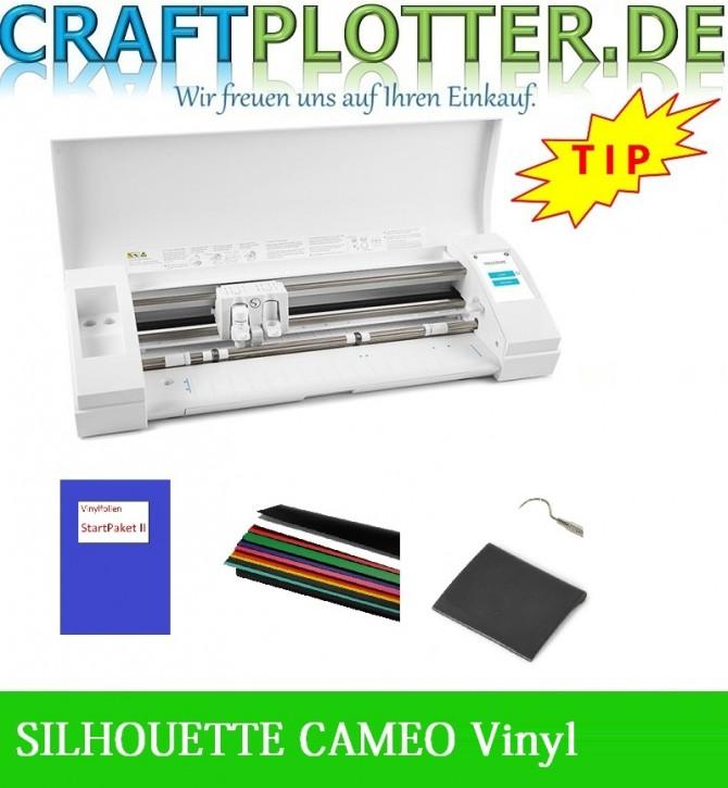 SILHOUETTE CAMEO® 3 Schneideplotter Aktion 3 Vinyl