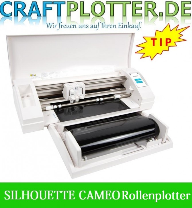 SILHOUETTE CAMEO® 3 Aktion 3 RollenPlotter