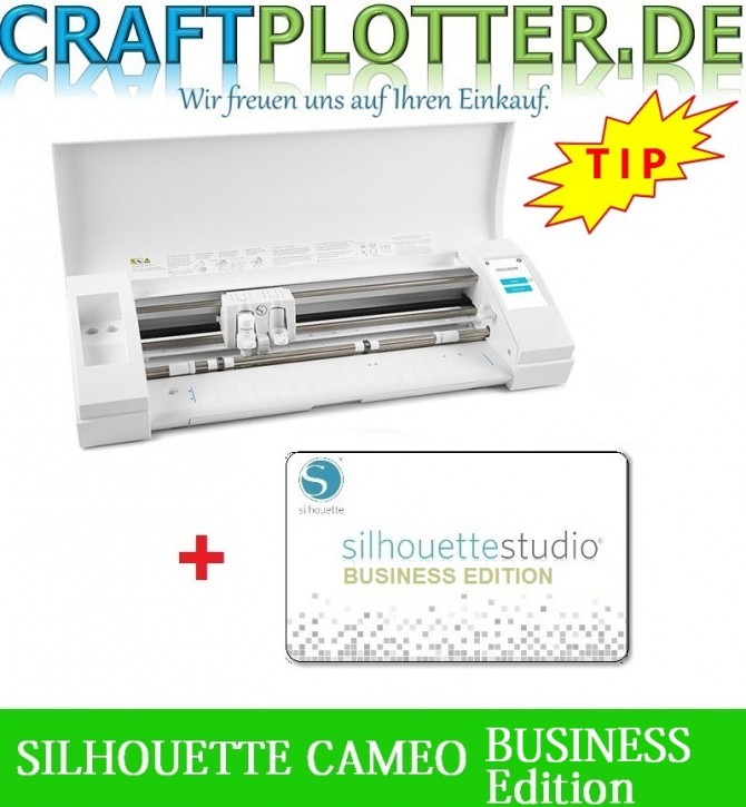 SILHOUETTE CAMEO® 3 Schneideplotter Aktion 3 plus Business Edition