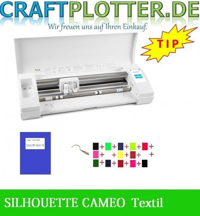 SILHOUETTE CAMEO 3 Schneideplotter Aktion 3 Textil