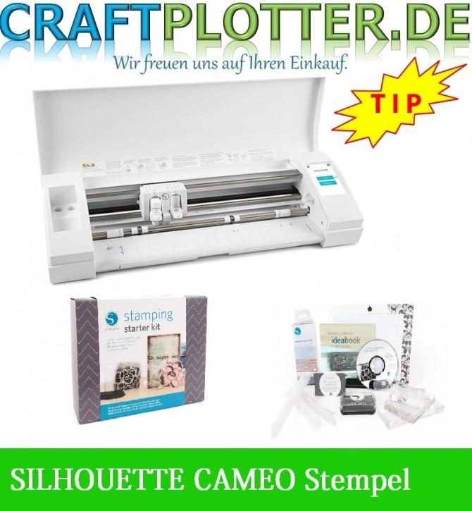 SILHOUETTE CAMEO® 3 Schneideplotter Aktion 3 Stempel