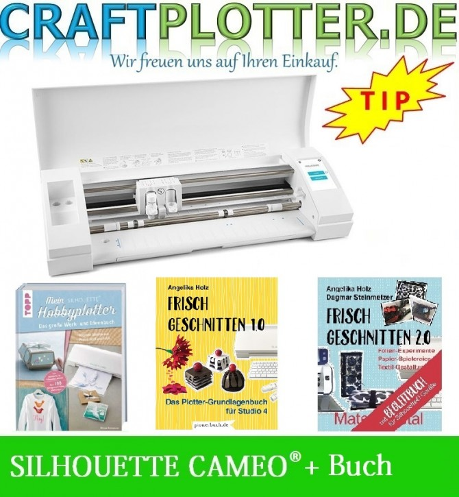 SILHOUETTE CAMEO® 3 Aktion Buch