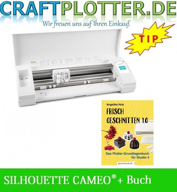 SILHOUETTE CAMEO® 3 Aktion Buch Frisch geschnitten 1