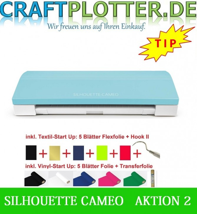 SILHOUETTE CAMEO 3 TEAL AKTION 2