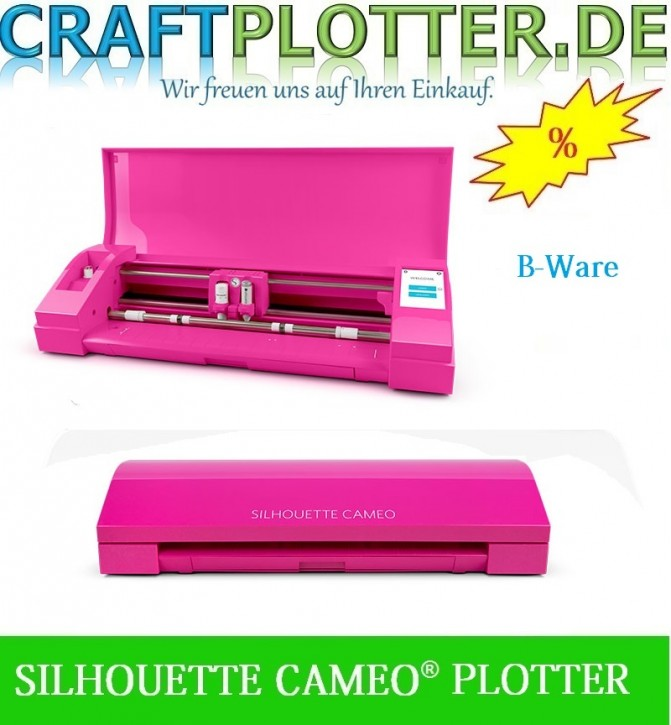 SILHOUETTE CAMEO® GLITTER PINK  B-Ware
