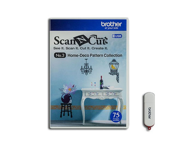 ScanNCut Designs Nr. 3 Home- und Dekomuster