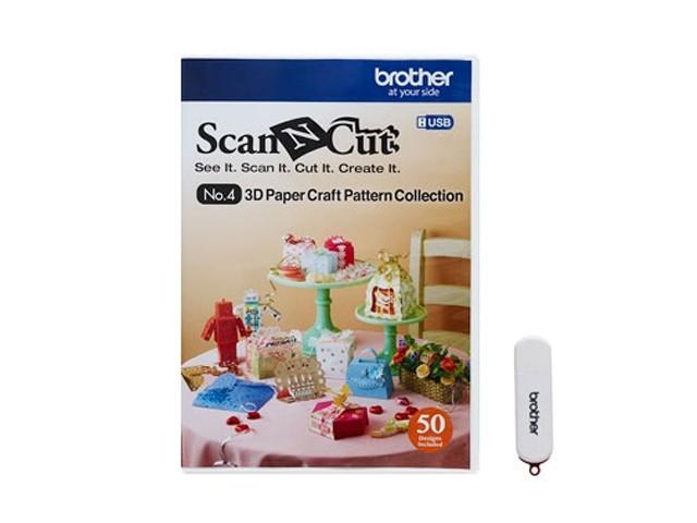 ScanNCut Designs Nr. 4 3D Papiermodelle