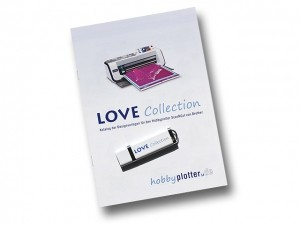 Designs Love-Collection für Brother ScanNCut