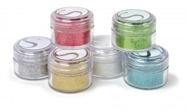 Silhouette Glitzerpulver Essential Farben