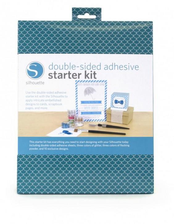 SILHOUETTE Doppelseitig klebendes Papier Starter Kit