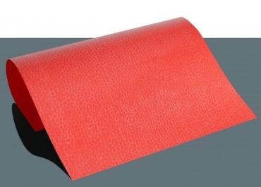 Leder Flexfolie A4 Rot