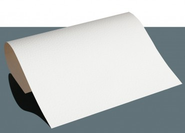 Leder Flexfolie A4 Weiss