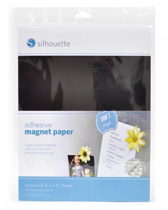 Klebendes Magnet Papier 4er Pack