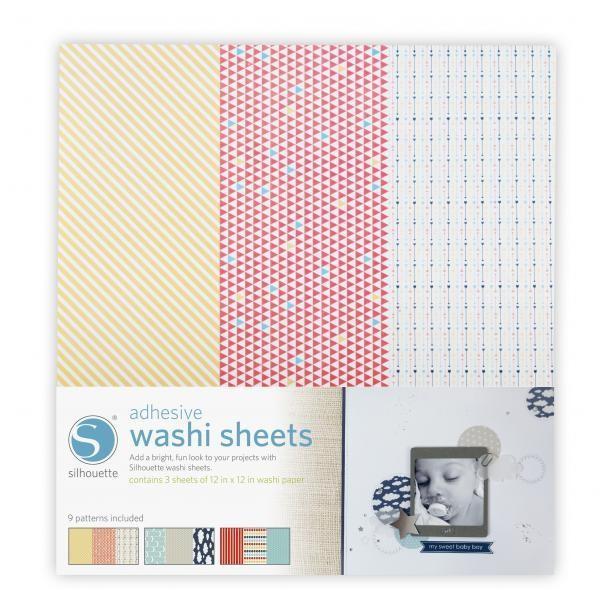 Klebendes Washi Papier