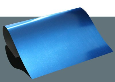 Metallic Flexfolie A4 Blau