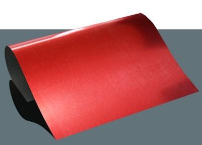 Metallic Flexfolie A4 Rot