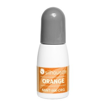 Silhouette Mint Stempel Farbe Orange 5 ml