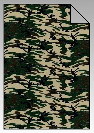 DesignFlex Army-Green Camouflage Look A4