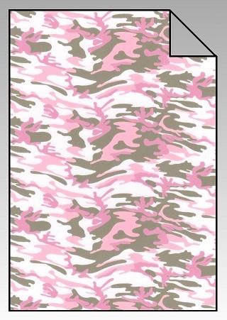 DesignFlex Army-Pink Camouflage Look A4