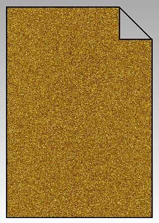 ExtraGlitzer Flexfolie A4 Gold