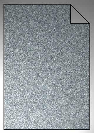 ExtraGlitzer Flexfolie A4 Silber