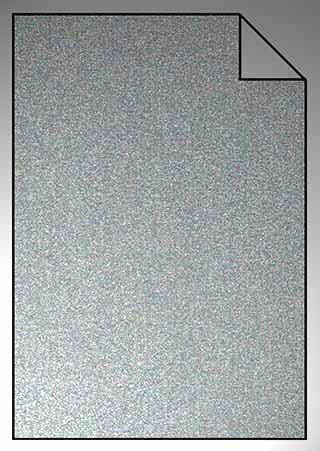 ExtraGlitzer Flexfolie A4 Holo Silber