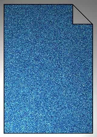 ExtraGlitzer Flexfolie A4 Hellblau