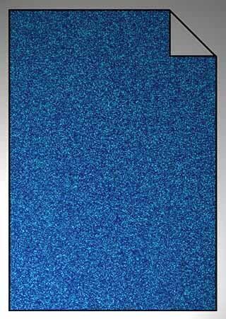 ExtraGlitzer Flexfolie A4 Blau